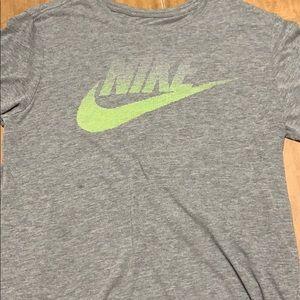 Nike gray t shirt